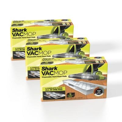 Shark 30ct VACMOP Disposable Hard Floor Vacuum and Mop Pad Refills