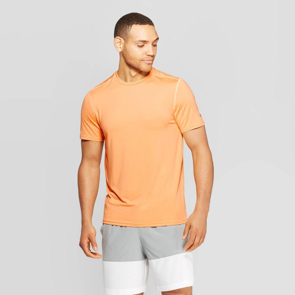 73ab0ca42f1a Mens Tech T Shirt C9 Champion Summer Haze Orange S
