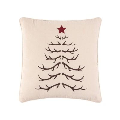 "C&F Home 20"" x 20"" Antler Tree Pillow"