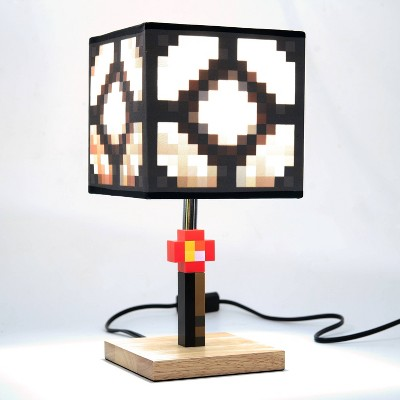 Minecraft Glowstone Table Lamp