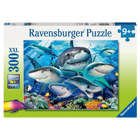 Ravensburger Smiling Sharks - 300pc Puzzle - image 1 of 2