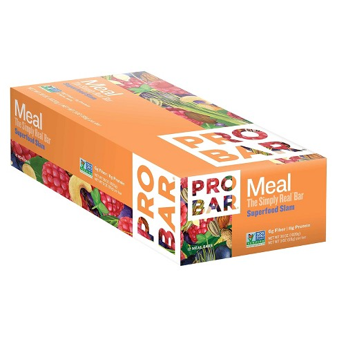 Probar Meal Superfood Slam Nutrition Bar - 12 ct - image 1 of 1