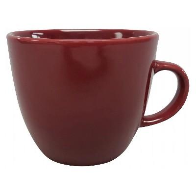 Coupe Mug 16oz Stoneware Bing Cherry - Room Essentials™