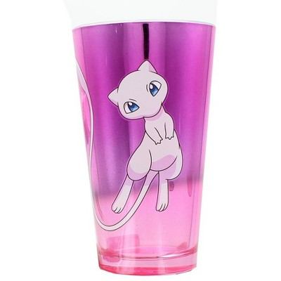 Just Funky Pokemon Mew 16oz Gradient Purple Pint Glass