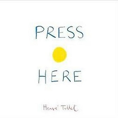 Press Here by Hervé Tullet (Hardcover)by Herve Tullet