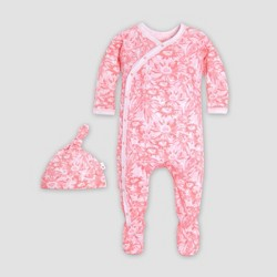 ad44956f1e5e5 Burt's Bees Baby® Baby Girls' Organic Cotton Daisies on Post Floral  Coverall with a