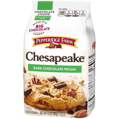 Pepperidge Farm Chesapeake Crispy Chesapeake Dark Chocolate Pecan Cookies - 7.2oz