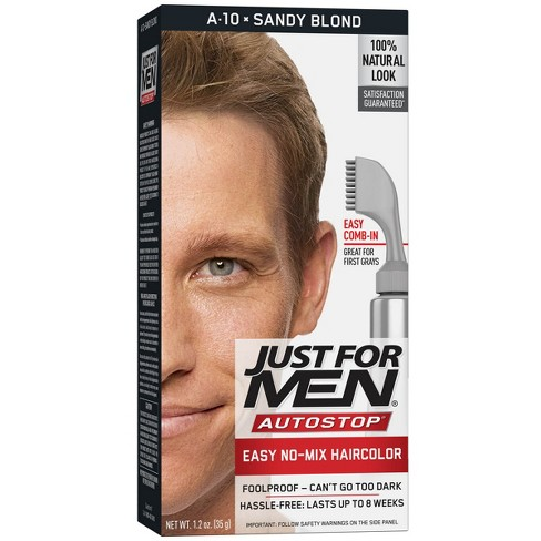 b598d29bb89 Just For Men AutoStop Sandy Blond A-10   Target