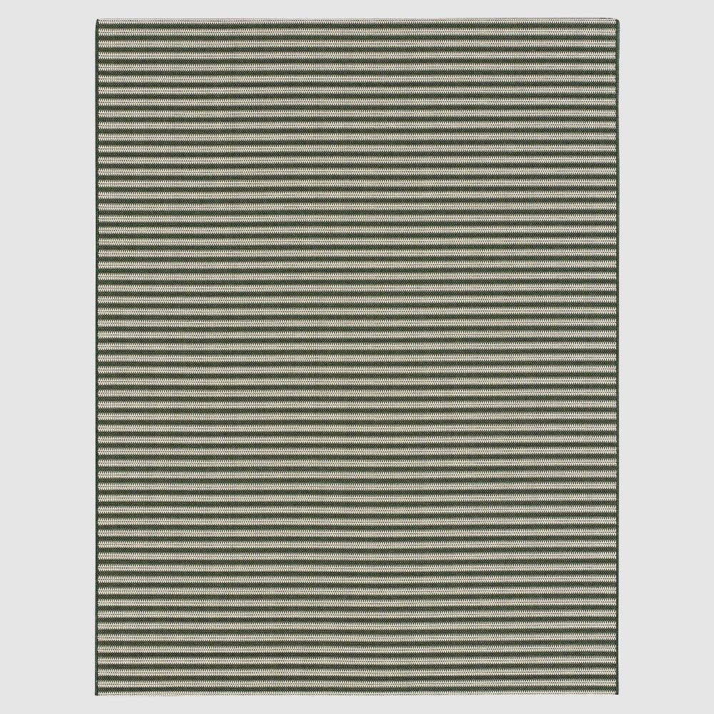 Forest Stripe Outdoor Rug - 9'x12' - Smith & Hawken, Green