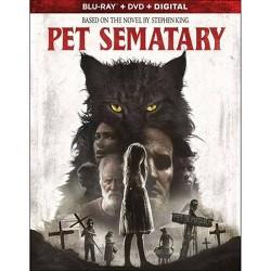 Pet Sematary (2019) (Blu-Ray + DVD + Digital)