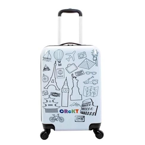 """Crckt 21"""" Kids' Hardside Carry On Spinner Suitcase  - image 1 of 4"""
