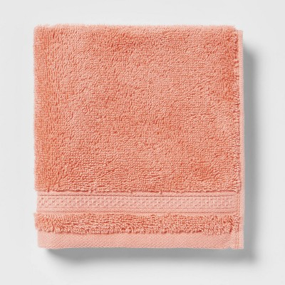 Soft Solid Washcloth Coral - Opalhouse™