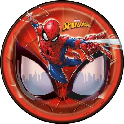 "Spider-Man 9"" 8ct Party Plates"
