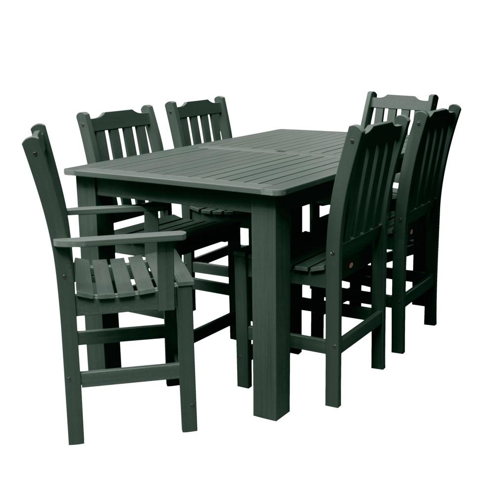 Lehigh 7pc Rectangular Counter Height Dining Set 72