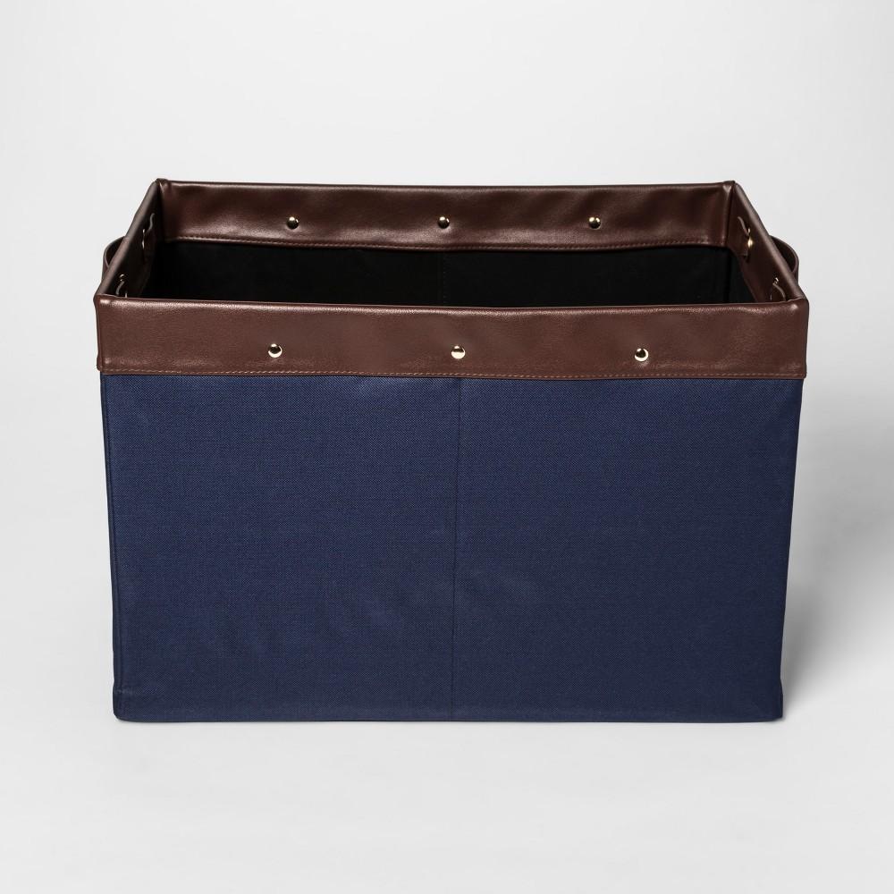 Decorative Bin - Navy - Room Essentials