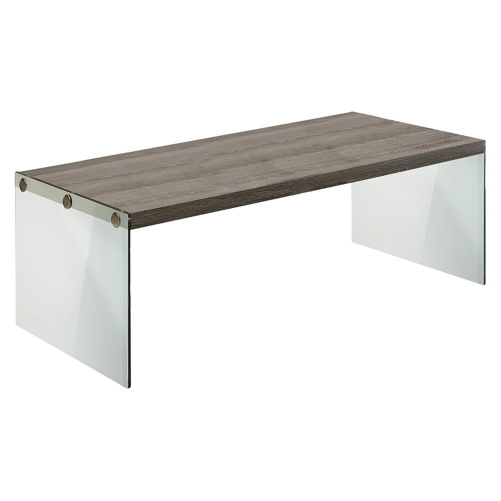 Compare Coffee Table Dark Taupe - EveryRoom