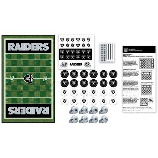 NFL Oakland Raiders Checkers Game