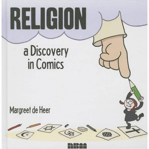 Religion - (Discovery in Comics) by  Margreet De Heer (Hardcover) - image 1 of 1