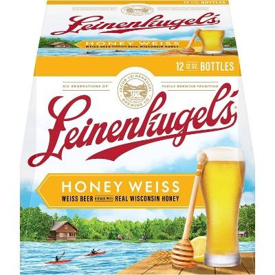 Leinenkugel's Honey Weiss Beer - 12pk/12 fl oz Bottles