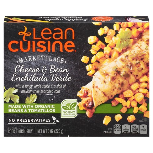 Lean Cuisine Marketplace Bean and Cheese Enchilada Verde - 8oz - image 1 of 1