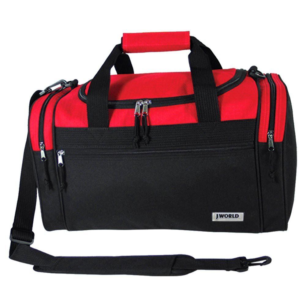 J World Copper 24 Duffel Bag - Red/Black