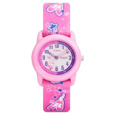 Kid's Timex Watch with Ballerina Strap - Pink T7B1519J