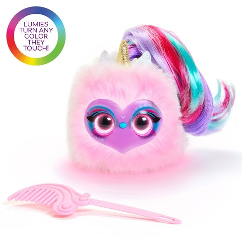 Pomsies Lumies - Rainbow Charged Interactive Pet - Dazzle GoGo - image 1 of 7