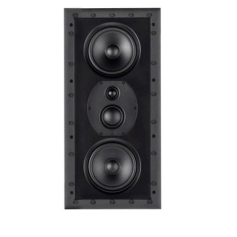 Monolith THX-365IW THX Ultra Certified 3-Way In-Wall Speaker, 1in Silk Dome Tweeter With Neodymium Magnet and Copper Shorting Ring, For Home Theater - image 1 of 4