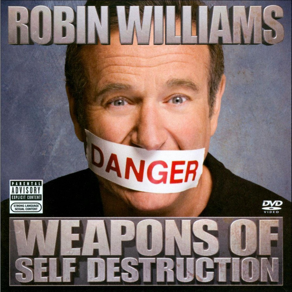Robin Williams - Weapons of Self Destruction [Explicit Lyrics] (CD)