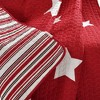 """50""""x60"""" Star Throw Blanket Red - Lush Decor - image 4 of 4"""