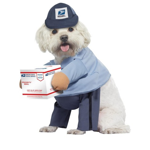 United States Postal Services US Mail Carrier Pup Pet Costume - image 1 of 1