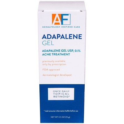 AcneFree Adapalene Gel Once Daily Topical Retinoid Acne Treatment - 0.5oz