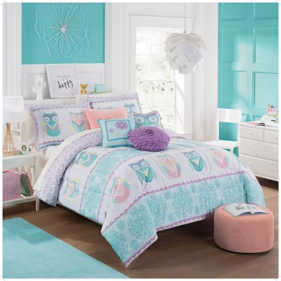 hoo-dreams-reversible-comforter-sets---waverly-kids by shop-this-collection