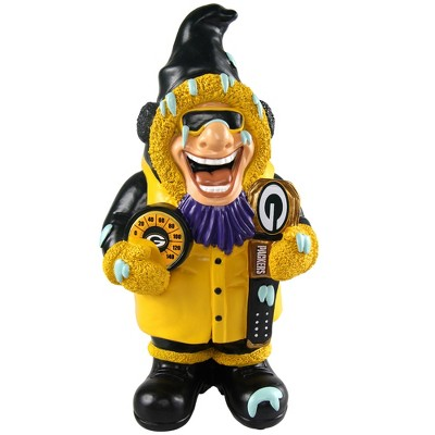 NFL Green Bay Packers Caricature Garden Gnome