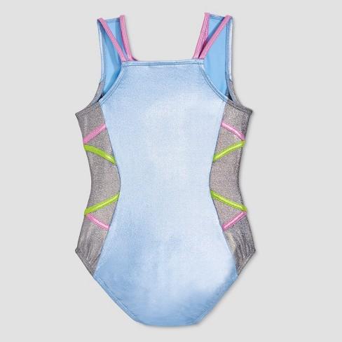 6b064a7d4d3c Freestyle By Danskin Girls  Leotards - Light Blue   Target