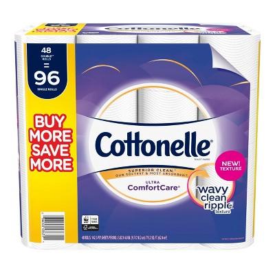 Cottonelle Comfort Care Toilet Paper - 48 Double Rolls