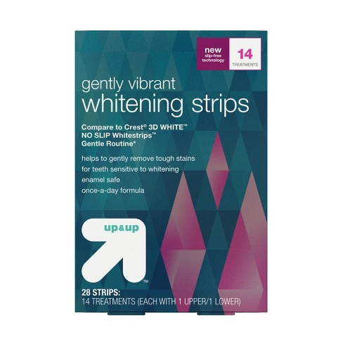 Tooth Whitening System -14 Day Treatment - Up&Up™ (Compare to Crest 3DWhite Whitestrips Gentle Routine) - image 1 of 5