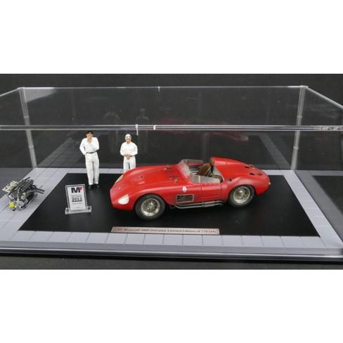 1956 Maserati 300s Dirty Hero With Engine 2 Figurines Miniature