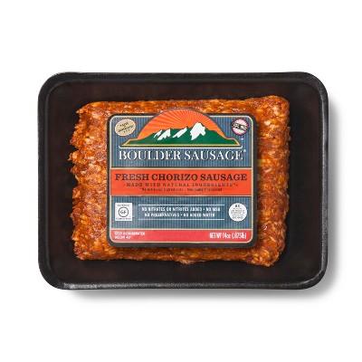 Boulder Sausage Fresh Chorizo Sausage - 14oz