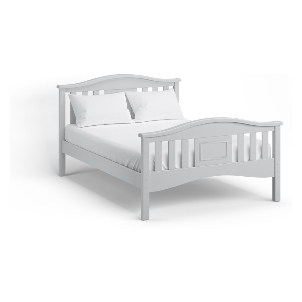 Lyndon Full Bed Dove Gray - Bolton Furniture