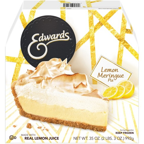 Edwards Frozen Lemon Meringue Pie