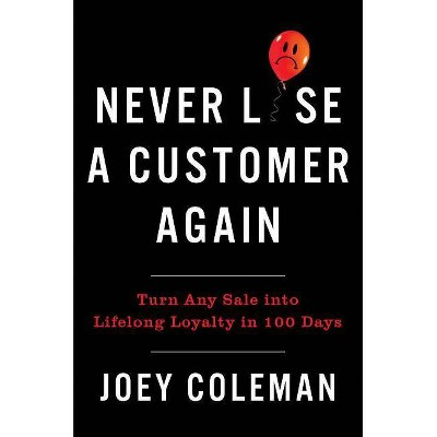 Never Lose a Customer Again - by  Joey Coleman (Hardcover)