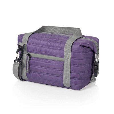 Oniva Midday Quilted Washable Insulated Lunch Bag - Purple