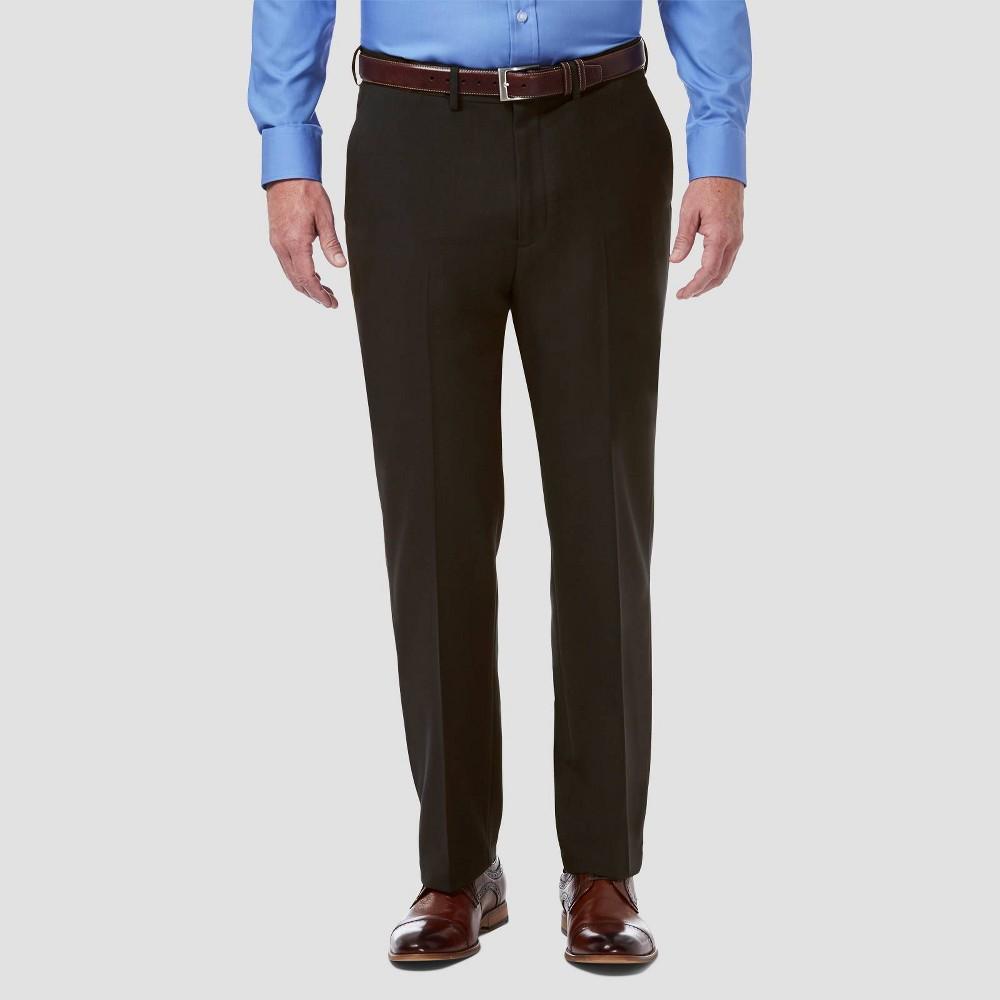 Promos Haggar H26 Big & Tall Premium Comfort Classic Fit Flat Front Dress Pants -