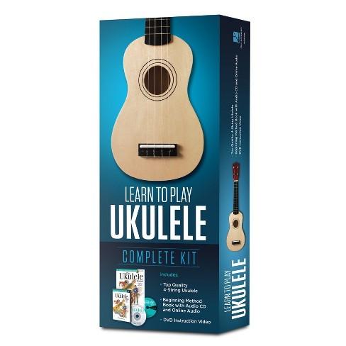 Hal Leonard Learn To Play Ukulele Kit - Washed Wood (274381) - image 1 of 1