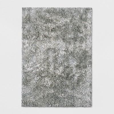 Light Gray Solid Tufted Area Rug 9'X12' - Project 62™