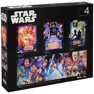 Buffalo Games Star Wars Puzzle Set - 4pk