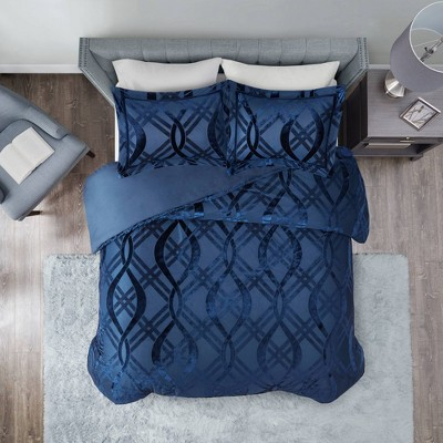 3pc Morgan Velvet Duvet Set