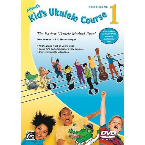Alfred Alfred's Kid's Ukulele Course 1 DVD Beginner - image 1 of 1