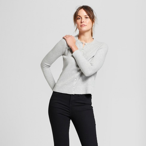 Women's Long Sleeve Any Day Cardigan - A New Day™ - image 1 of 3
